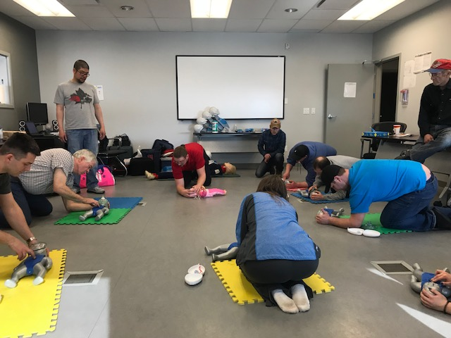 Red Cross First Aid Course