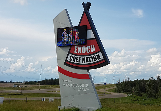 Indigenous Partnerships SDI Mobile & Enoch Cree Nation