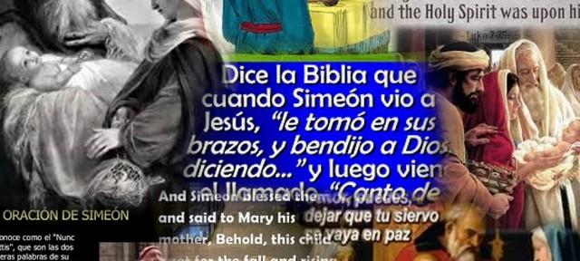 Simeon blessed them