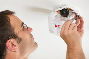Replace the batteries in your smoke detectors