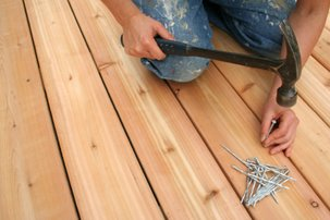 Clean decks, driveways, fences and other outside surfaces
