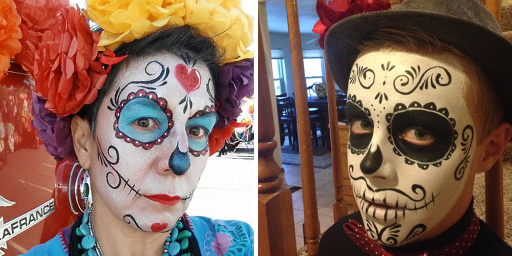 Day of the Dead/Sugar Skull Face Painting