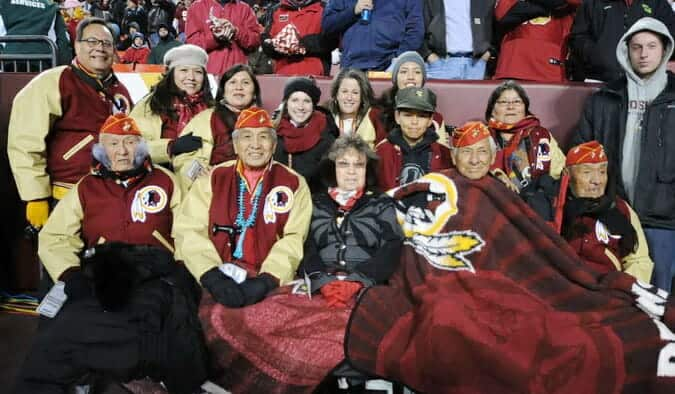 Navajo Code Talker Washington Redskins