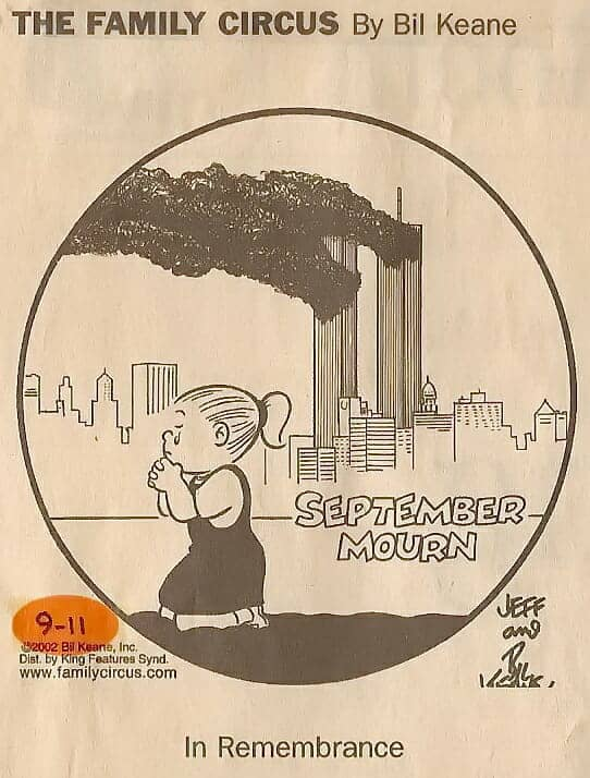 Family Circus 9-11 cartoon