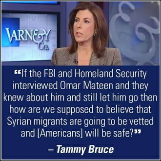 Tammy Bruce Gay Terror