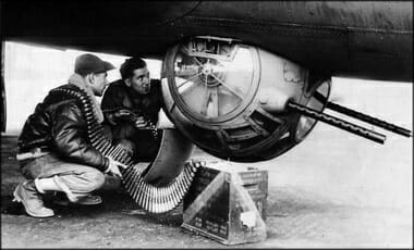 Image result for WW2 Ball Turret with Twin .50 Cals