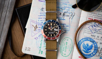 HUEGUH + FOG CITY VINTAGE: THE PILOT'S WATCH | ROLEX GMT