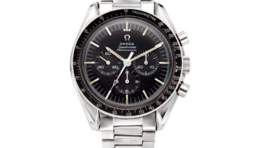 FOG CITY VINTAGE'S 1968 OMEGA SPEEDMASTER SELLS AT CHRISTIES.