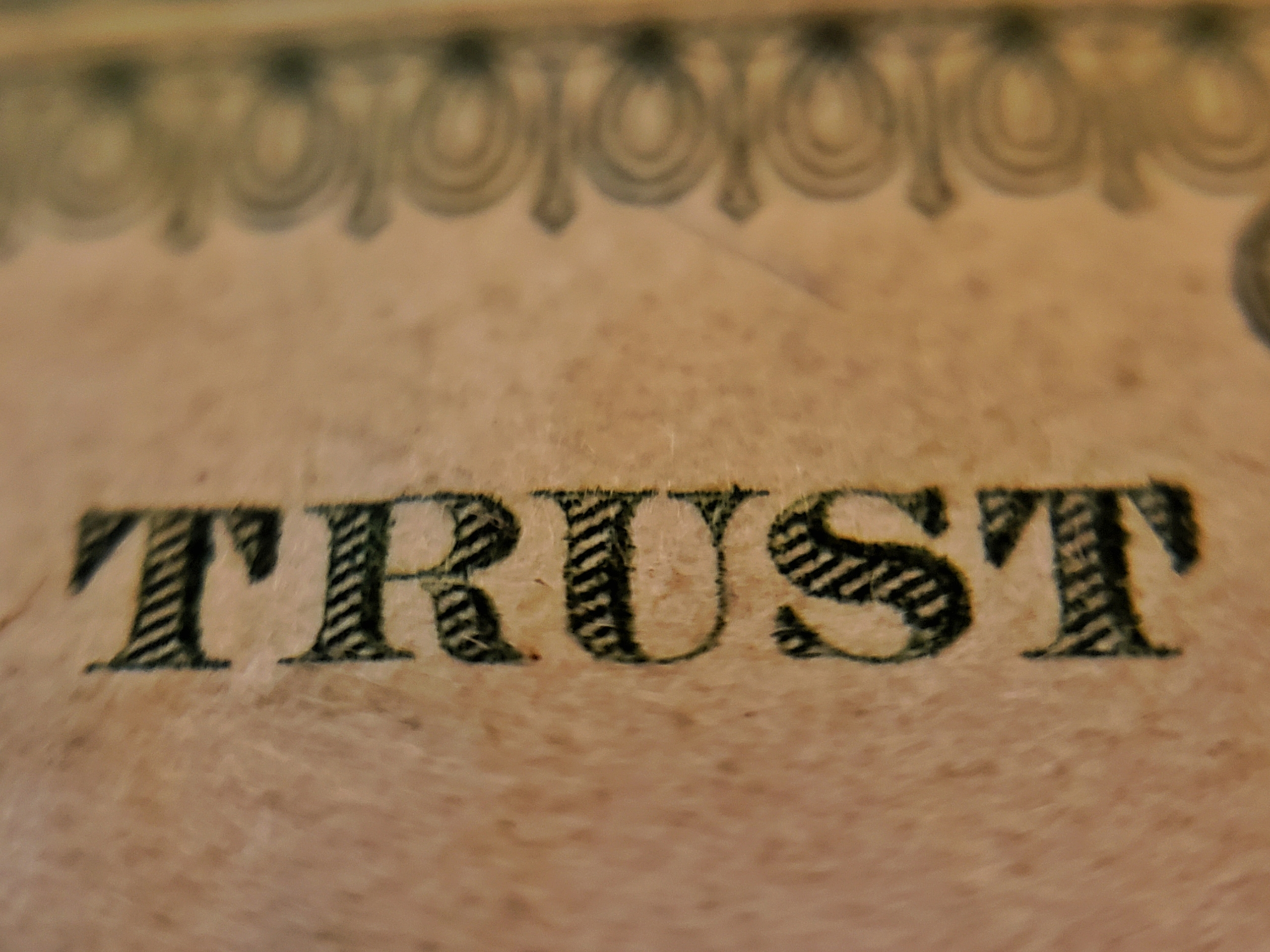 Trust is the Ultimate Currency
