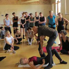Floor-Barre® Mentors Louise Hickey-Cadiff & Joseph P. Cooksey