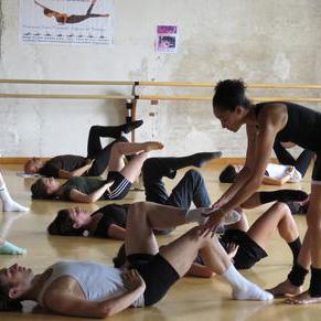 Floor-Barre® Mentor Nora Kimball-Mendoza in Venice 2014