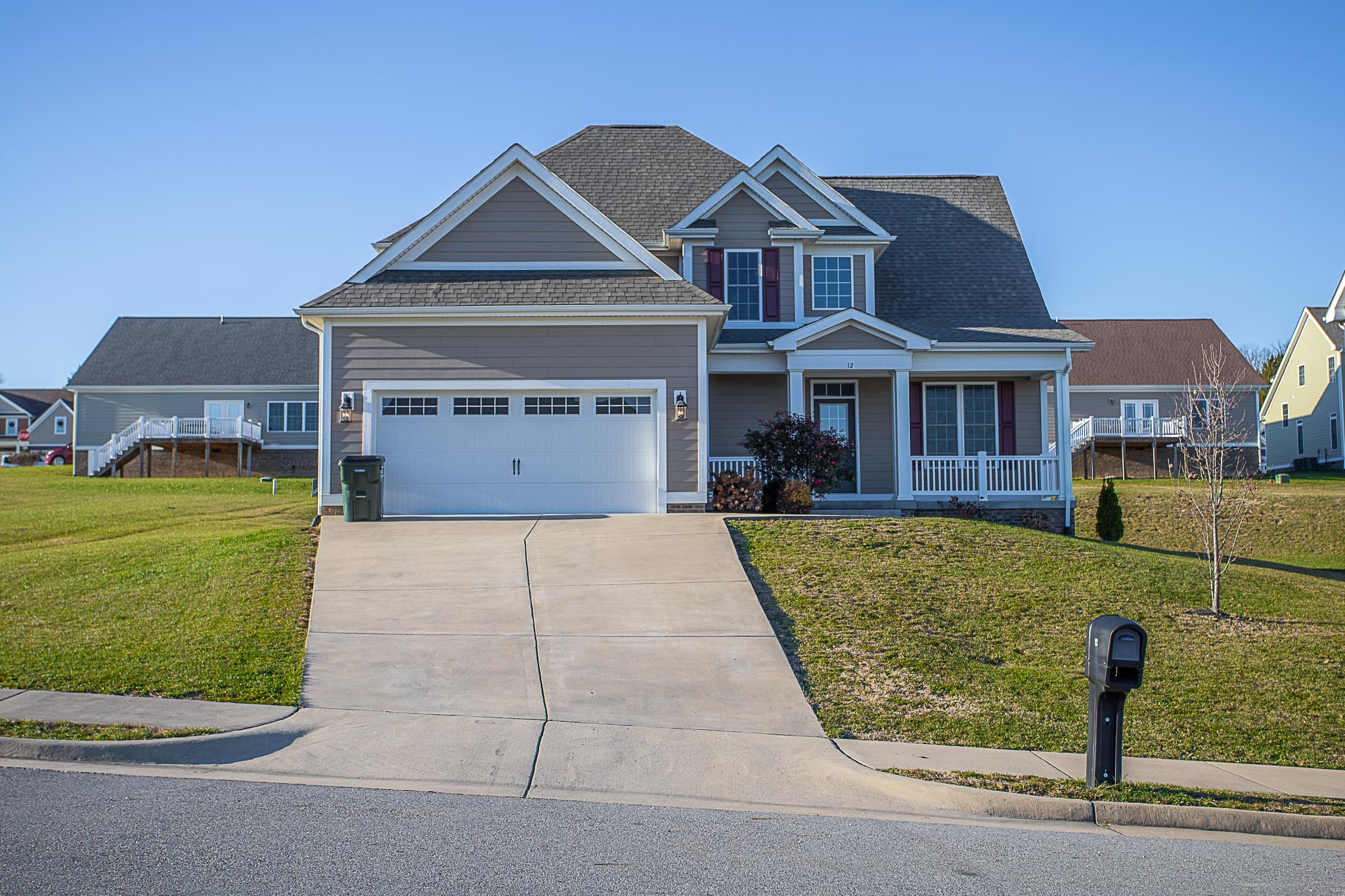 Home for Sale in Fishersville, 12 N Windsong Court