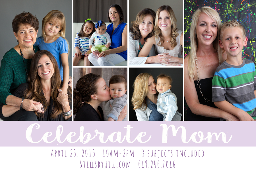 Mother's Day portraits San Diego