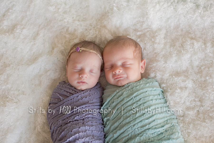 san diego newborn twin baby photographer