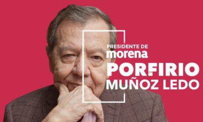 Autoproclamación Dirigente Legítimo Morena. Foto Twitter @PMunozLedo