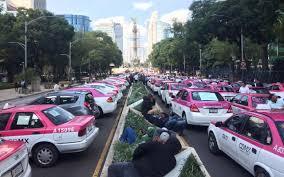 Taxistas exigen acuerdos con gobierno Cdmx