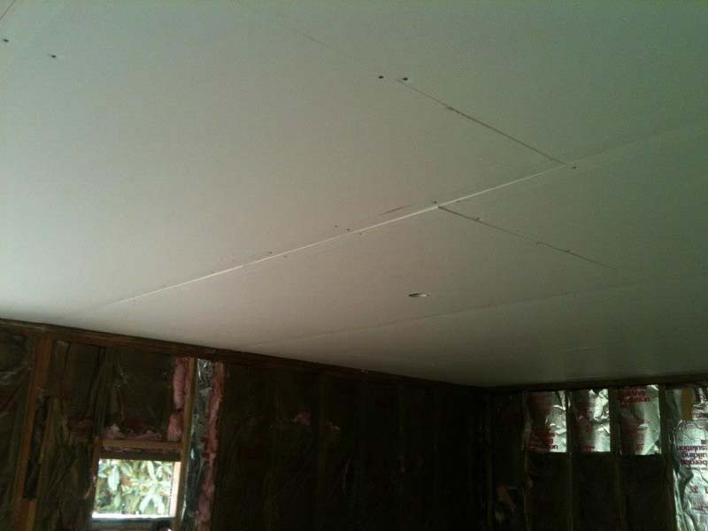 ceiling is ready