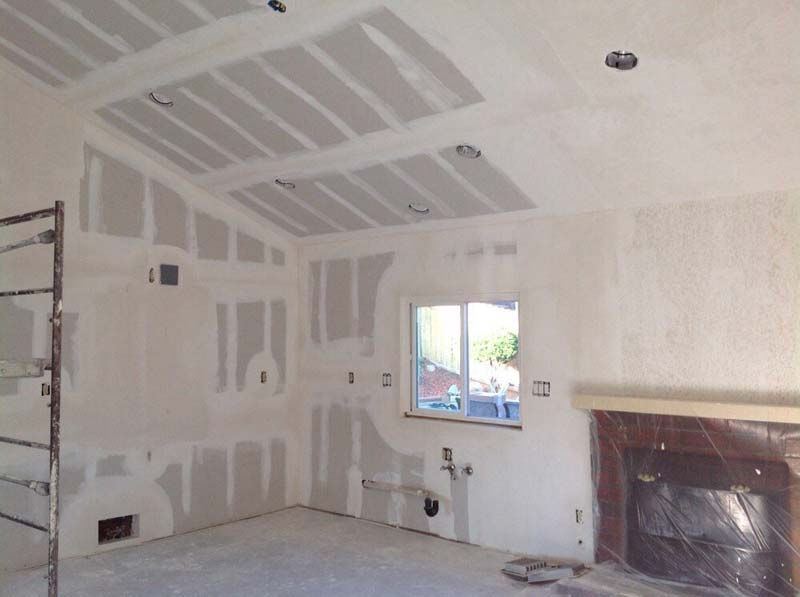 drywall is up time for mudding