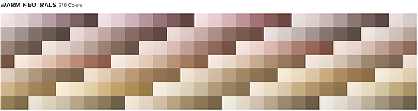 WARM NEUTRALS 337 Colors