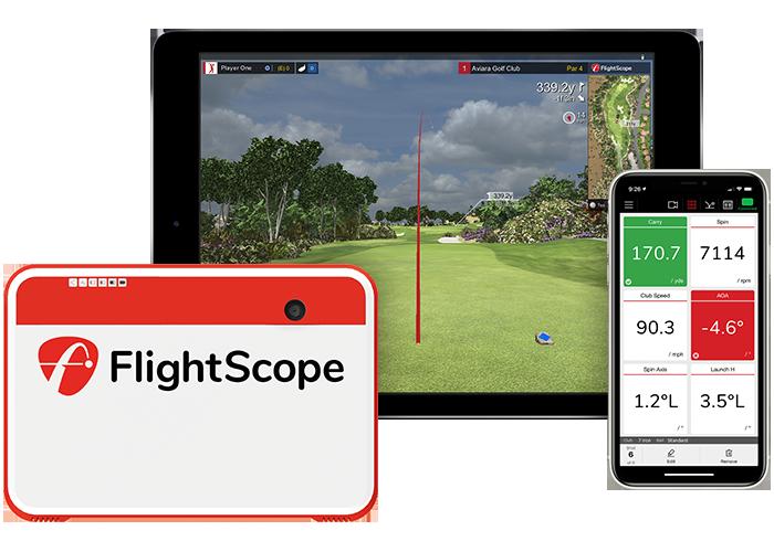 flightscope mevo plus golf simulator