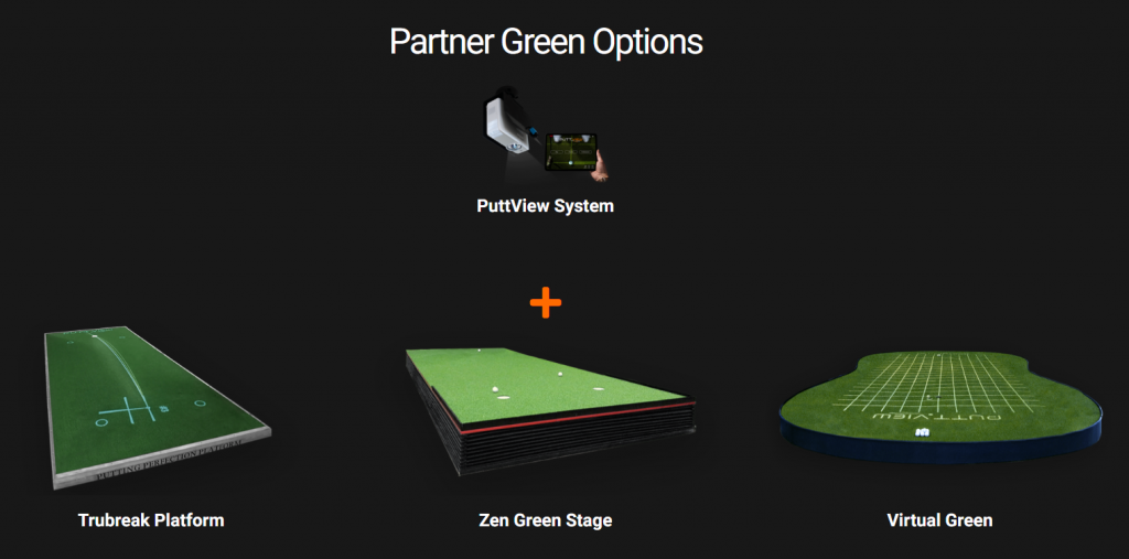 PuttView Virtual Green