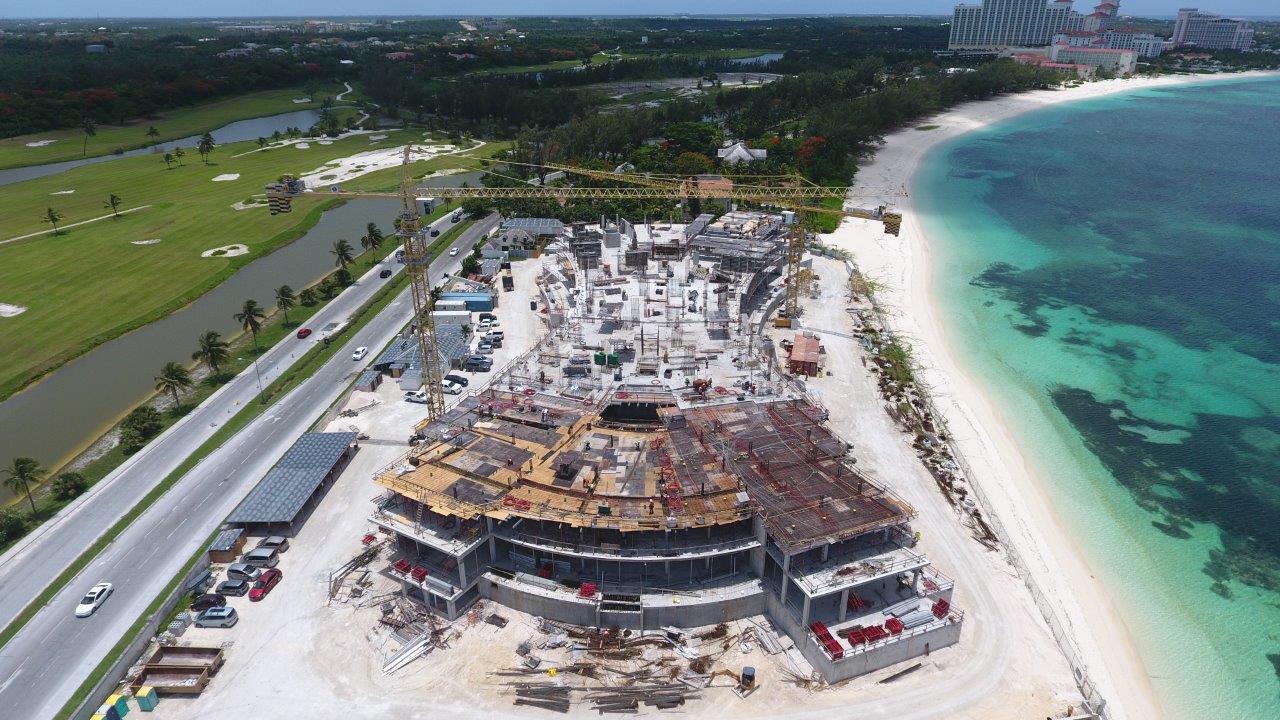 Fourth story of Goldwynn Residences Bahamas going up