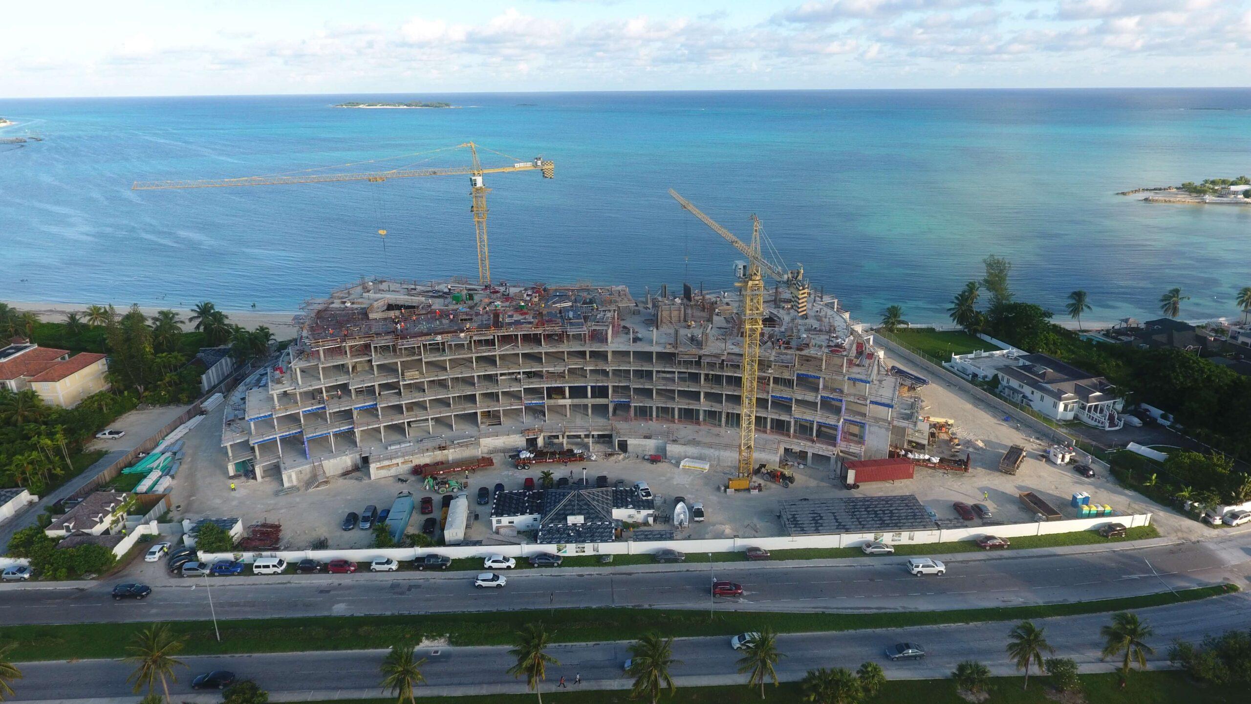 Construction Progress - October Ocean Views