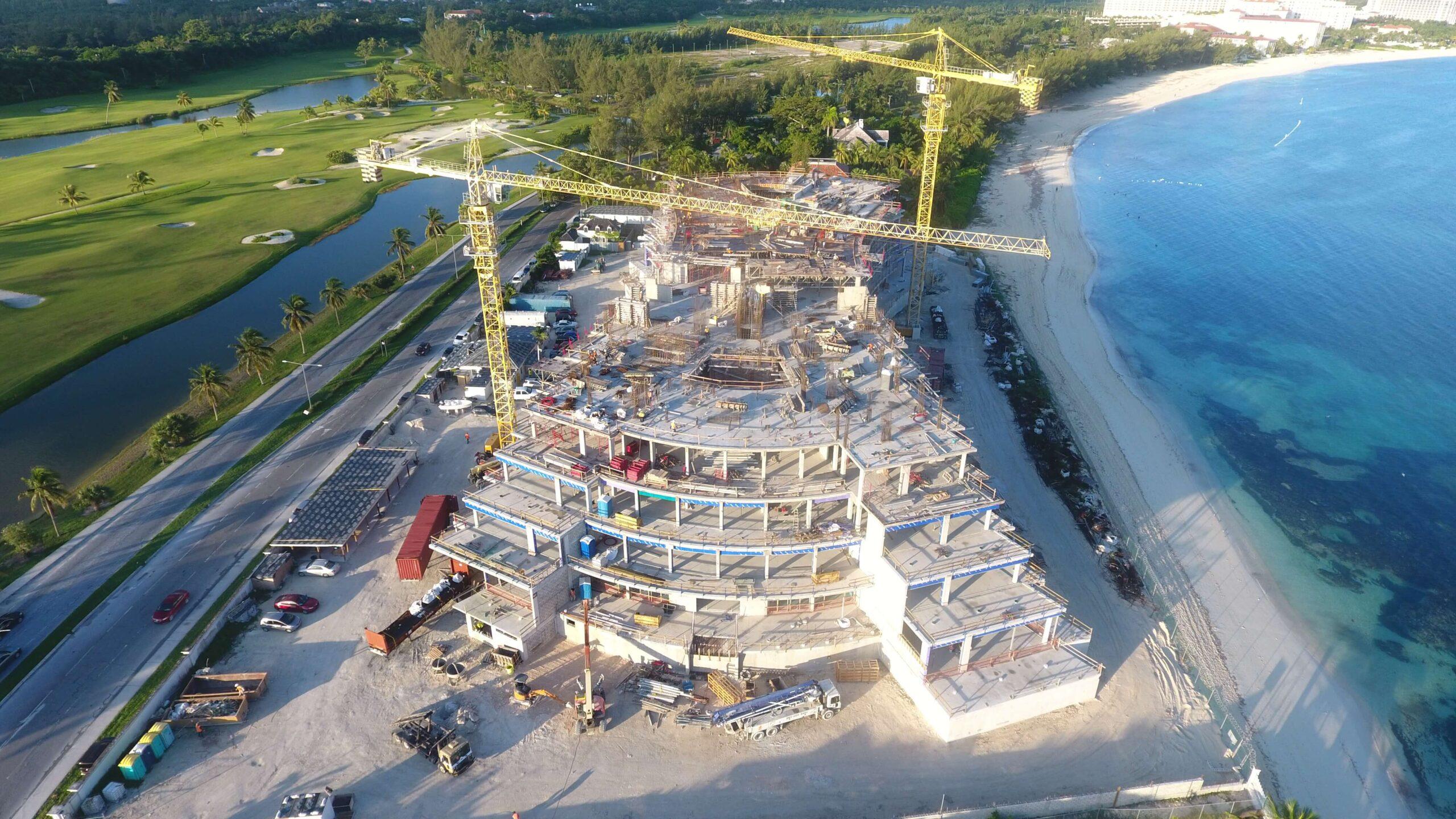October Construction Progress