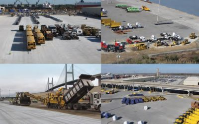 Port of Savannah Chooses Roller-Compacted Concrete for Its Ocean Terminal Expansion