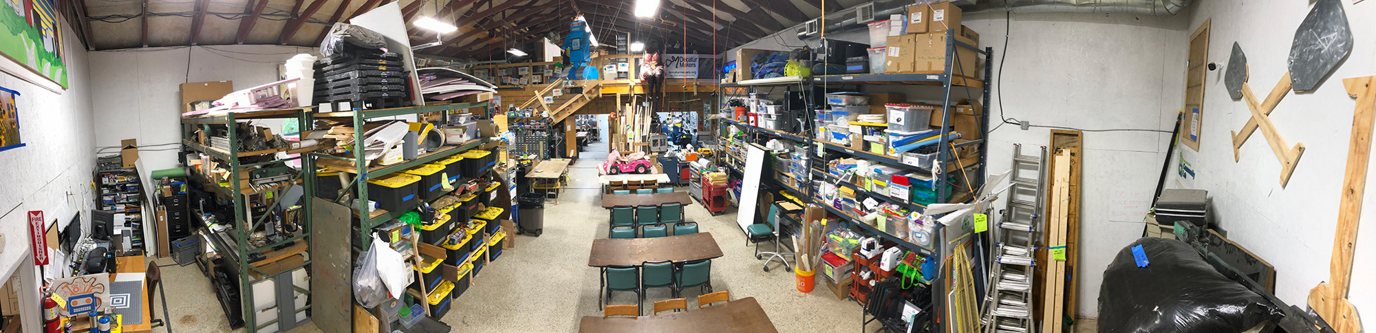 Inside the Decatur Makerspace