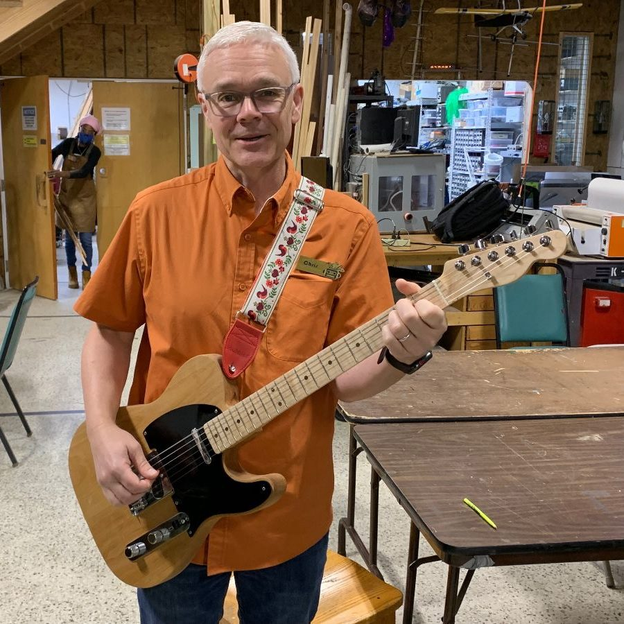 DM Member Project: Check Out Chris's Gorgeous Telecaster!