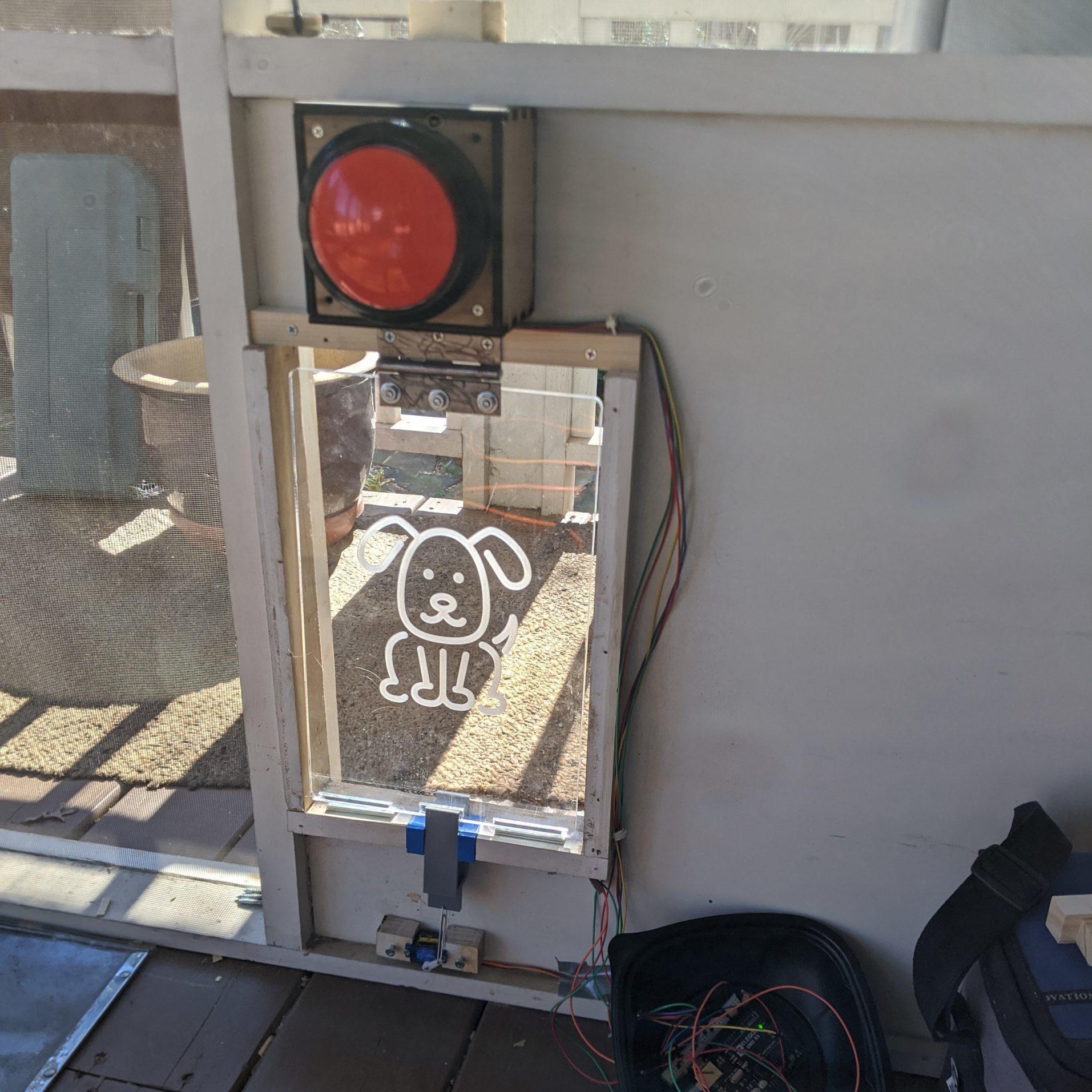 """DM Member Project: Kenny's """"Smart"""" Dog Door"""