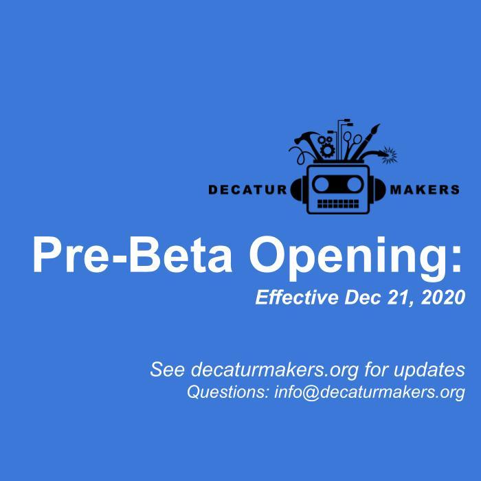 Pre-Beta Phase Opening: Dec 21, 2020