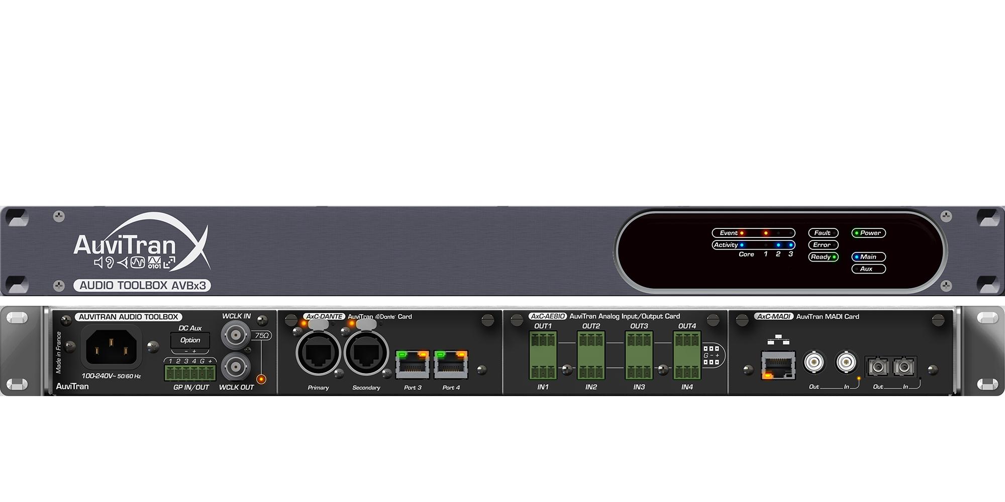 AuviTran ToolBox Model AVBx3 for Installation