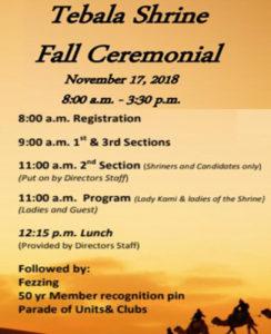 Fall-Ceremonial