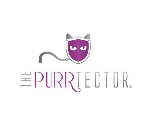 The Purrtector Logo
