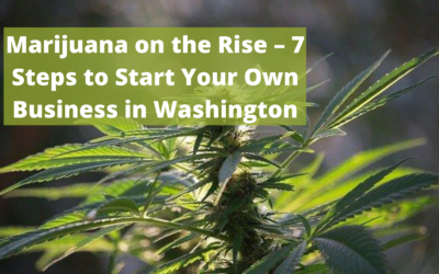 Marijuana on the Rise – 7 Steps to Start Your Own Business in Washington
