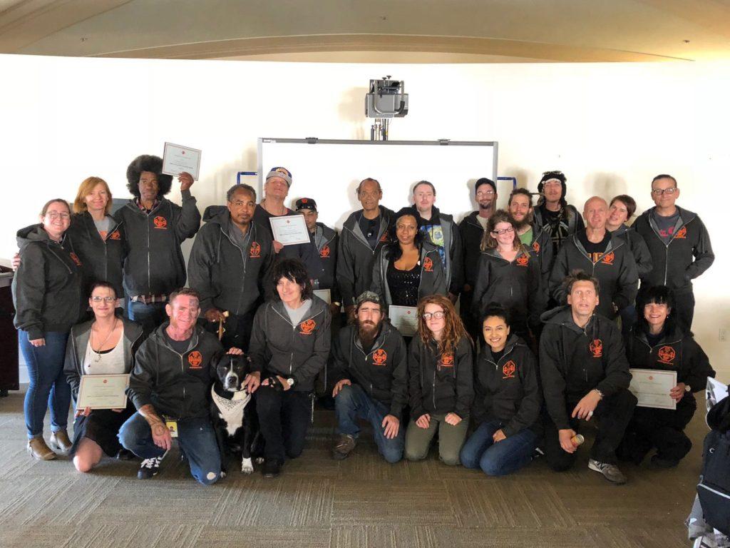 End Hep C SF Community Navigator training graduation