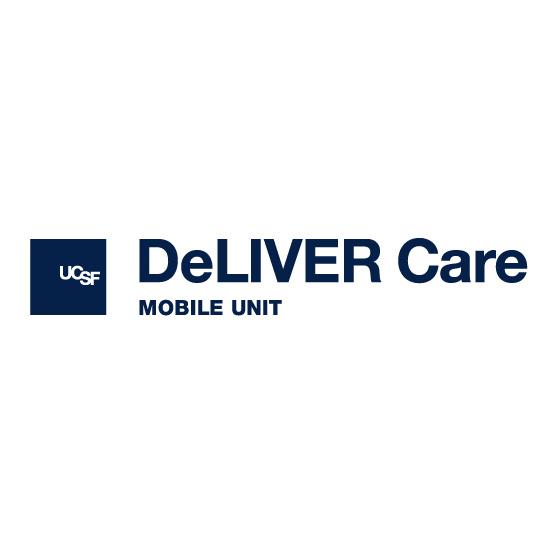 UCSF DeLIVER Care van logo