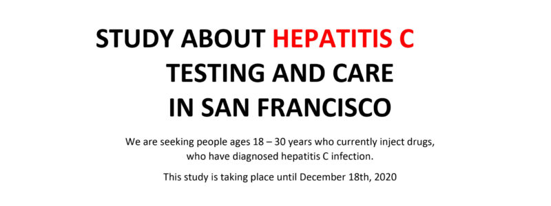 Hep C testing and care study