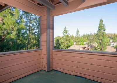 Stunning Mountain Views from an apartment at Crestwood Apartments