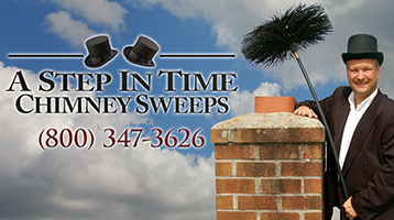 """A Step in time chimney sweeps """"call us"""""""