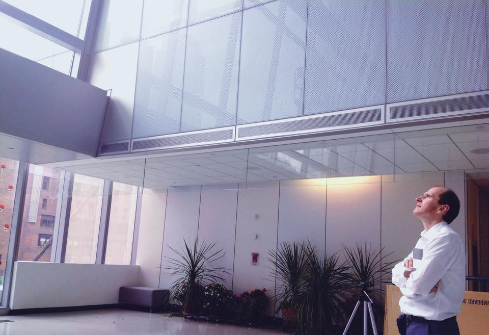 Photograph of Alexandra Dang in New Building of John Jay College