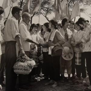 Welcome Mengsheng Commune Tang Desheng 1970