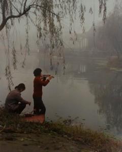 Educated Youth Doing Morning Exercises, Yixing County