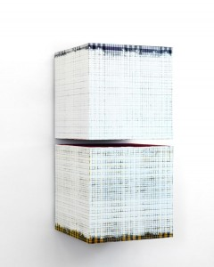 Remy Jungerman, Nkisi Sanga, cottontextilekaolin,wood,xxxcm