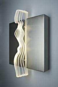 Antonia Papatzanaki Exceeding Limits  stainless steel Plexiglas light   s