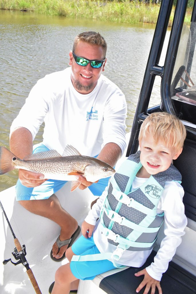 Florida Boy Adventures - Summer Adventure Camp - 30A Kids Inshore Fishing