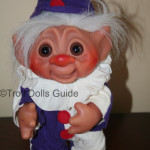 Purple White Dam Clown Troll