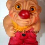 Dam Clown Troll Doll - Sad Face